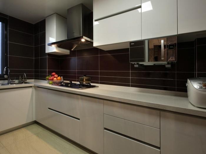 现代简约-127.13平米三居室-装修样板间