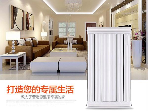 【冬缘散热器】家用水暖壁挂散热器 铜铝复合80x80