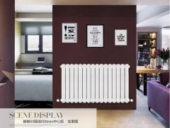 【津华锐散热器】暖气片钢制60圆弧家用水暖散热器壁挂暖气片