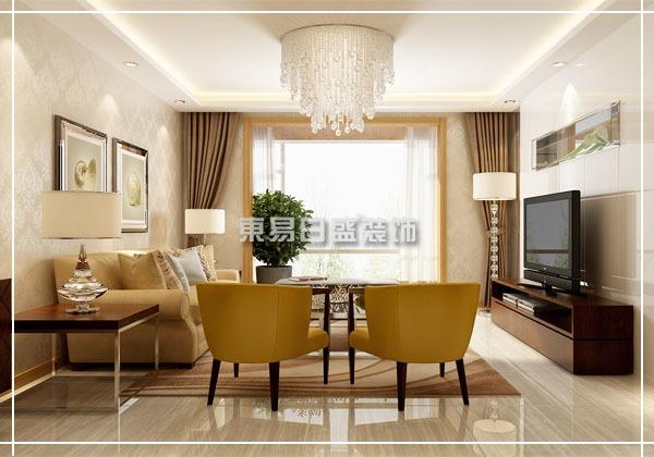 现代风格-128平米三居室-装修样板间