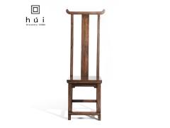 回中国胡桃木餐椅中式改良实木家具餐椅书椅办公椅