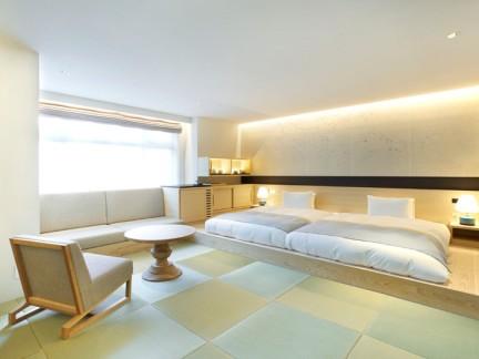 日式榻榻米40平小复式装修卧室实景图