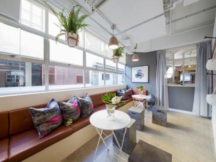 小清新混搭风格公寓休闲阳台设计效果图