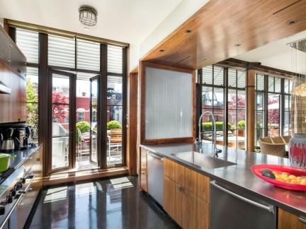 时尚大气别墅开放式厨房装修图片欣赏