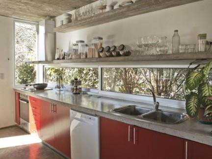 美式风格实用厨房收纳设计效果图