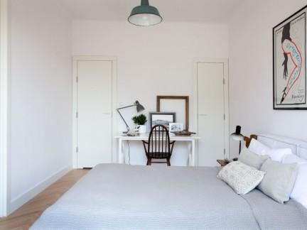 清新小资北欧风格公寓卧室简单装修效果图