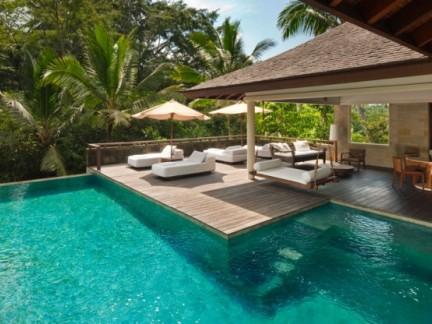 东南亚风格别墅私家庭院景观设计效果图