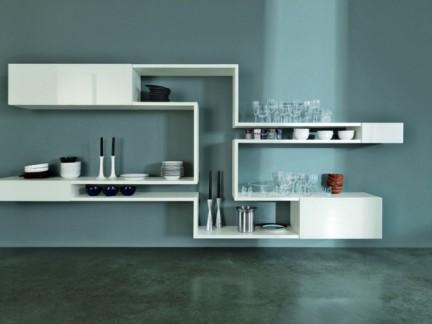 创意设计储物柜白色家具装修效果图-2018平面设计图家具尺寸 房天下