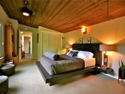 北欧风格温馨卧室新房装修设计案例图片