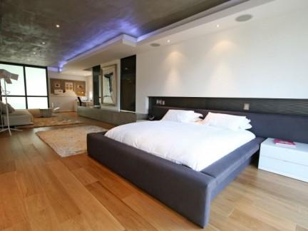 50平小户型简约风格卧室实景图