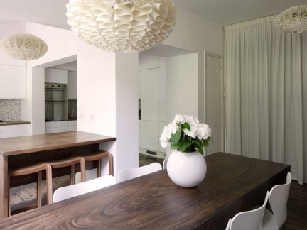 现代风格餐厅三居室装修样板间