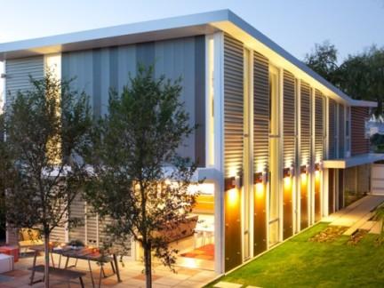 300平现代风格别墅私家庭院景观设计效果图