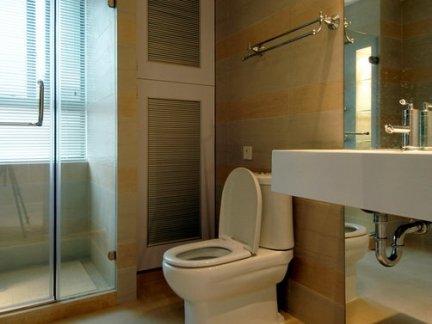 现代风格别墅卫生间室内设计