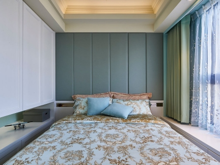 家装现代风格小户型卧室装修案例