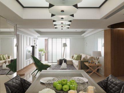 现代风格客厅家居饰品装修设计