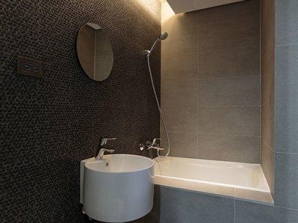 欧式风格别墅卫生间马赛克瓷砖效果图