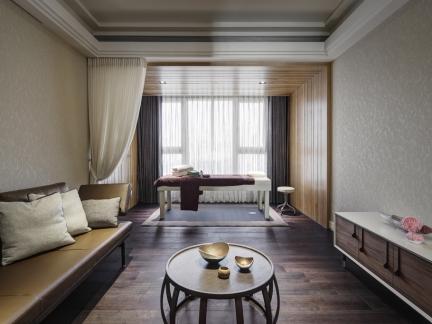 现代风格客厅墙布装修设计