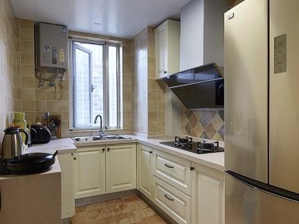 欧式风格四居室整体厨房装修效果图