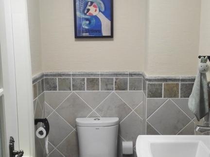 小户型家装卫生间洗手台效果图