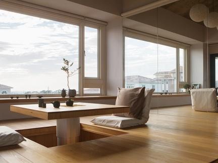 日韩风格客厅窗套装修设计