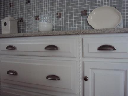 美式厨房橱柜门装修设计