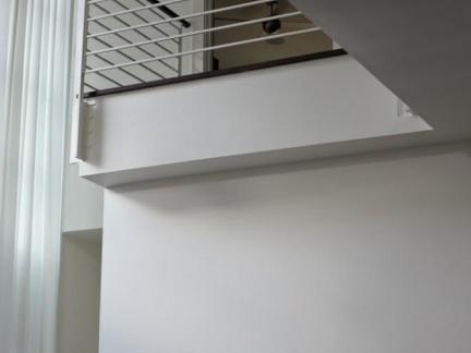 现代复式楼楼梯护栏装修图片欣赏
