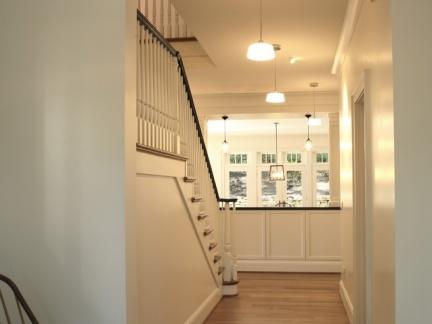 一层玄关走廊木制地板砖效果图欣赏