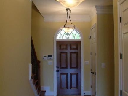 美式风格复式楼套装门装修设计