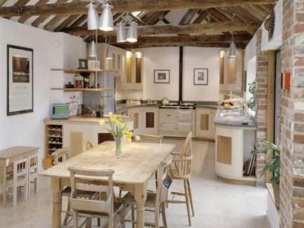 个性现代工业北欧厨房餐厅吊顶装修图
