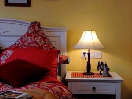 时尚欧式卧室床头柜装修设计