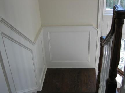 2018楼梯间装饰墙效果图 房天下装修效果图
