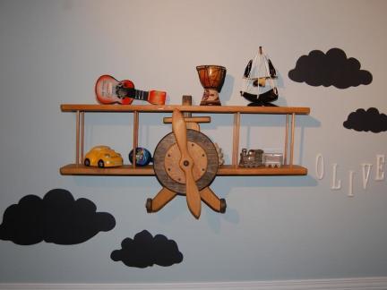 创意设计儿童房墙面装饰图片欣赏