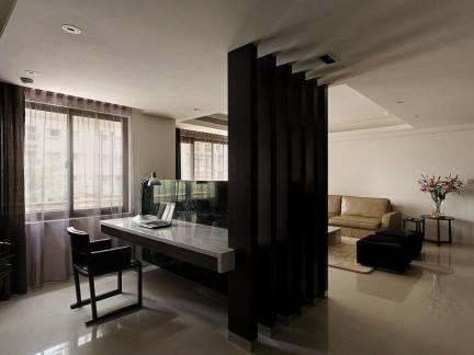 古典风格三室两厅阅读角装修设计