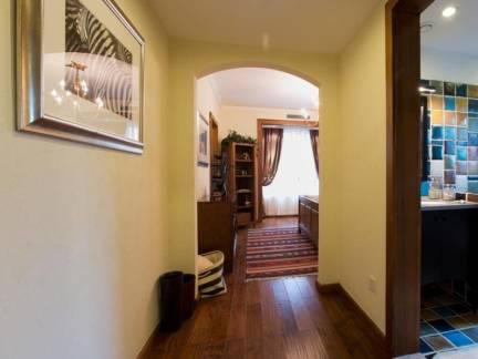 地中海风格大户型别墅玄关走廊设计图