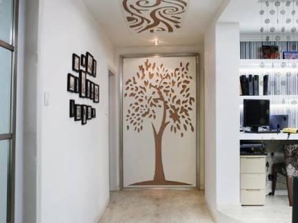 现代四居室过道玄关装修设计