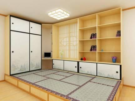 现代经典三居室卧室榻榻米及衣柜设计合集
