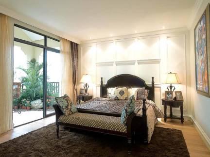 古典怀旧欧式卧室设计图欣赏