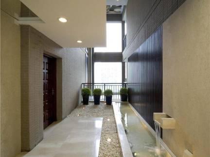 现代风格公寓走廊吊顶装饰图片欣赏