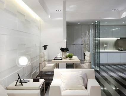 朴素简约风格餐厅室内装修设计