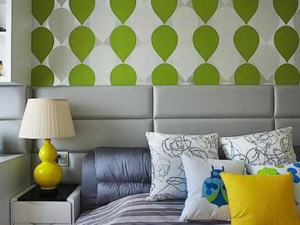 80平米小户型卧室壁纸装修设计