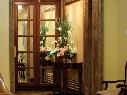 美式风格别墅大理石石材门套装修设计