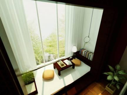 中式卧室楼榻榻米装修设计