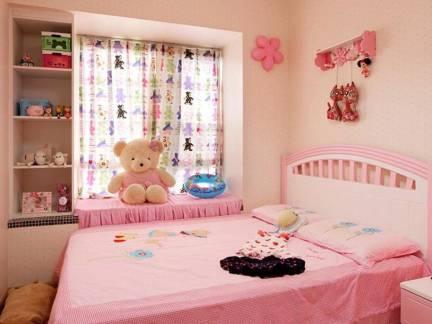 华美温馨现代风格135平米三居室儿童房设计效果