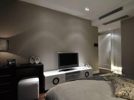 现代暗色格调电视背景墙设计合集