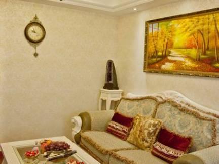优雅奢华欧式客厅吊灯效果图