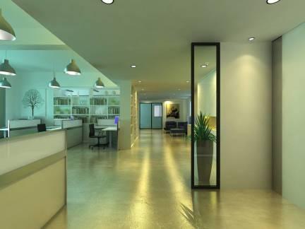 现代公寓过道吊顶装修设计