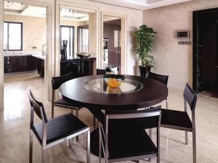 现代小型别墅餐厅装修设计