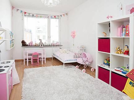 温馨儿童房室内家具装修设计