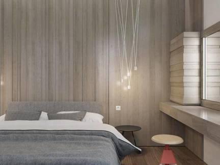 灰色格调卧室整体装修设计
