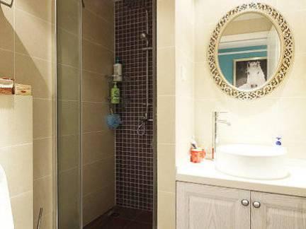 四室两厅简欧风格卫生间浴室柜装修设计